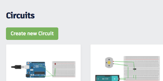 create new circuit button