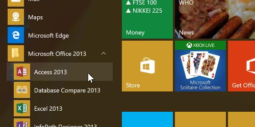 Microsoft Access application icon